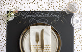 Chalkboard Paper Placemats