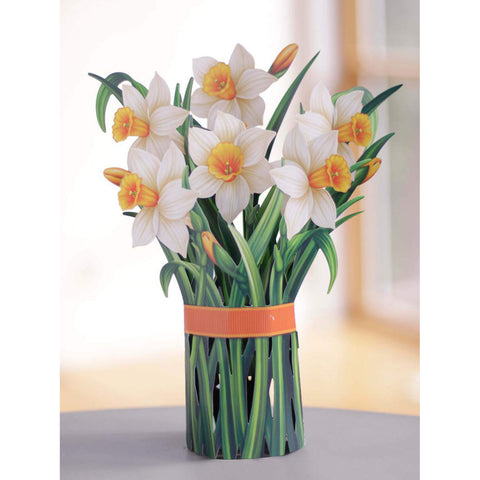 Daffodils Pop Up Flower Bouquet