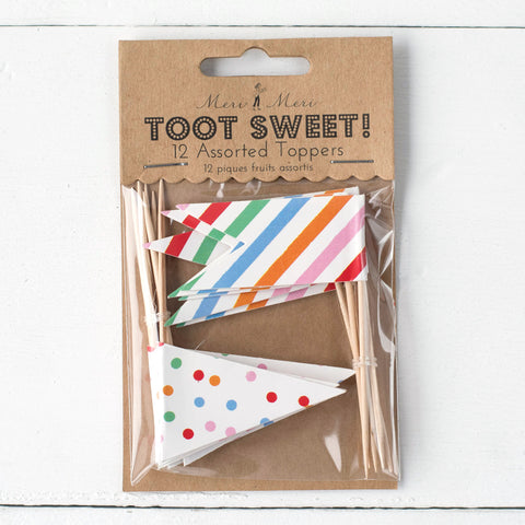 Toot Sweet Food Toppers