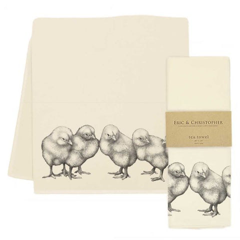 Baby Chicks 2 Tea Towel
