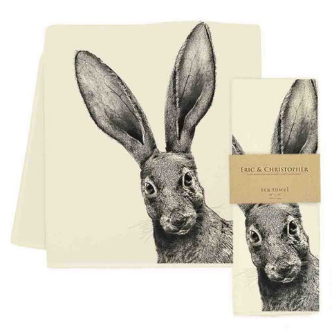 Jack Rabbit Tea Towel