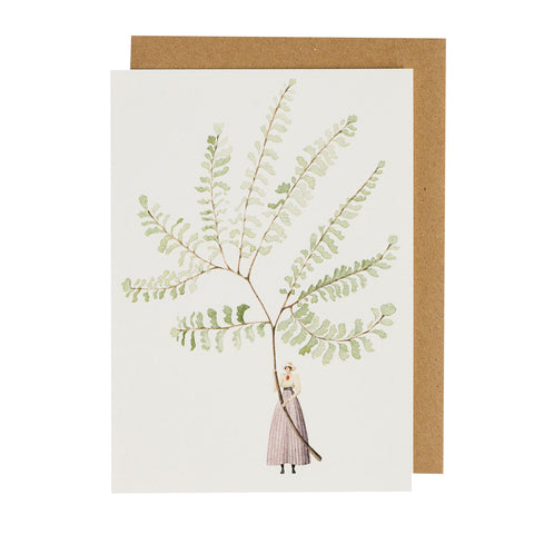 Fern 2 Greeting Card