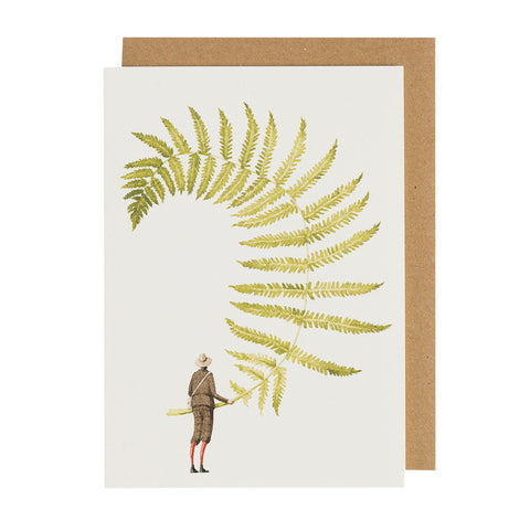 Fern 5 Greeting Card