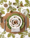 Oak Leaf & Acorn Paper Table Runner