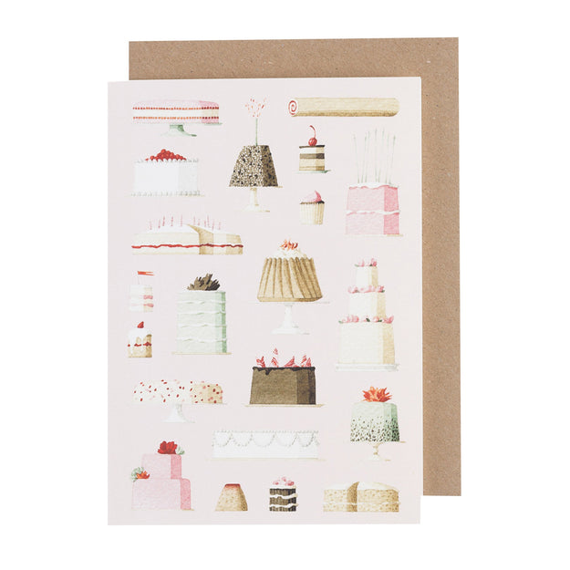 Laura Stoddart Cakes Greeting Card
