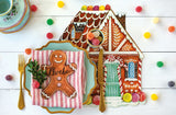 Die Cut Gingerbread House Placemats