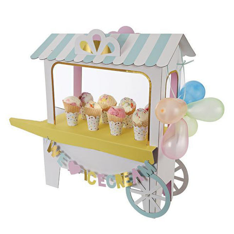 Ice Cream Cart Centerpiece