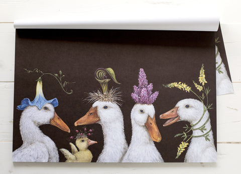 Ducks Paper Placemats