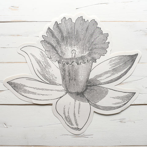 Die-Cut Daffodil Placemat Sheets
