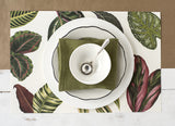 Tropical Leaves Paper Placemats