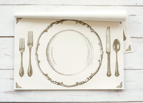 Gold Perfect Setting Paper Placemats
