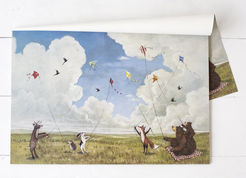 Kite Party Paper Placemat
