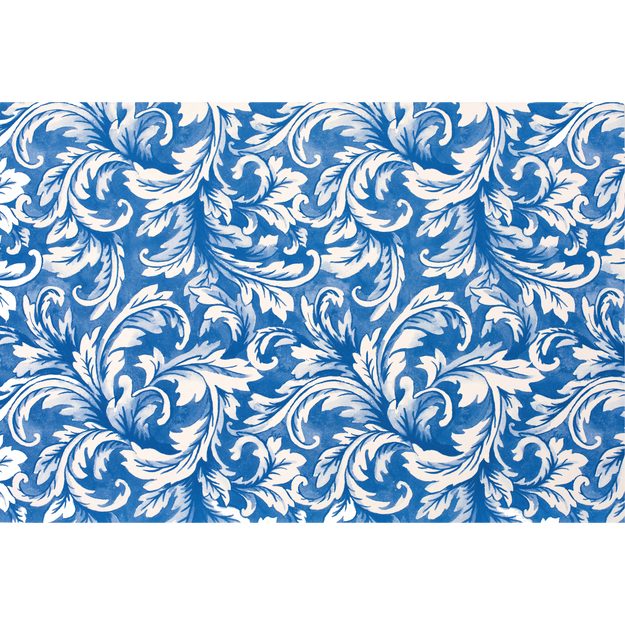 China Blue Acanthus Placemat