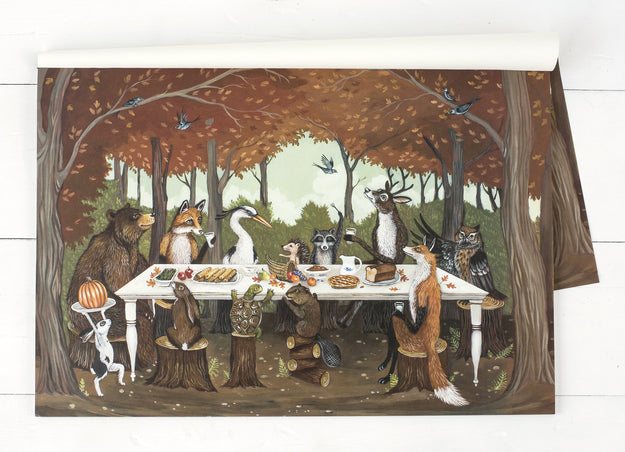 Thanksgiving Friends Placemat