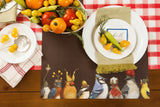 Backyard Party Paper Placemats