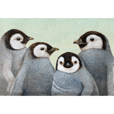 Winter Penguins Placemat