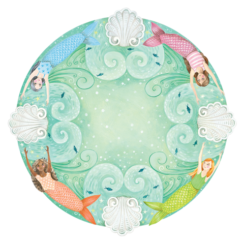 Die Cut Mermaid Placemat