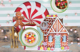 Die-Cut Peppermint Placemat