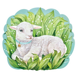 Die Cut Little Lamb Placemat