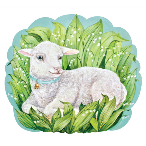 Die-Cut Little Lamb Placemat