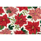 Festive Poinsettias Placemat