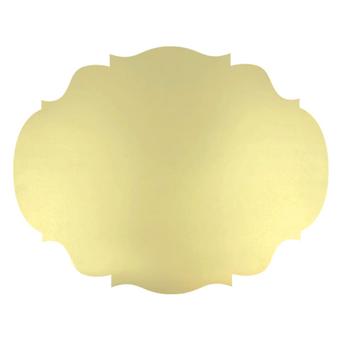 Die-Cut Gold French Frame Placemat