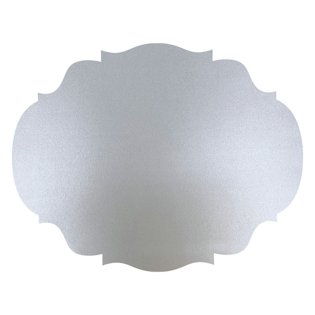 Die-Cut Silver French Frame Placemat