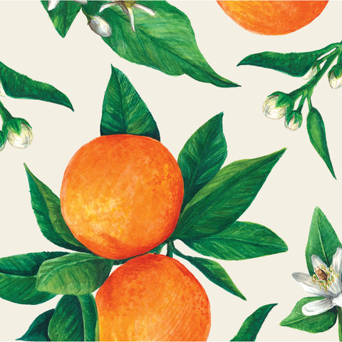 Orange Orchard Cocktail Napkin