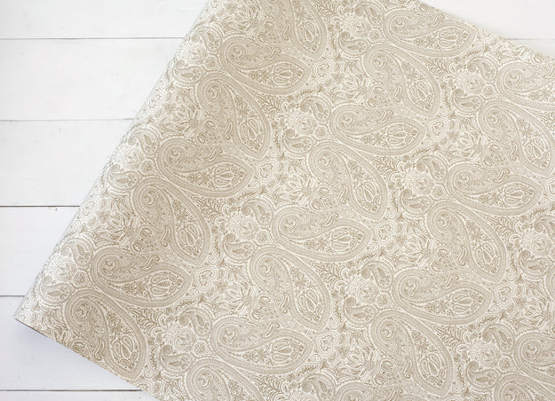 Paisley Paper Table Runner