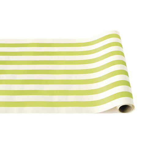 Bright Green Classic Stripe Runner
