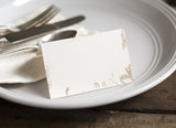 Gold Marbled Place Cards
