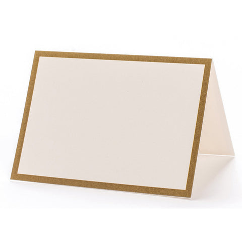 Gold Frame Place Cards