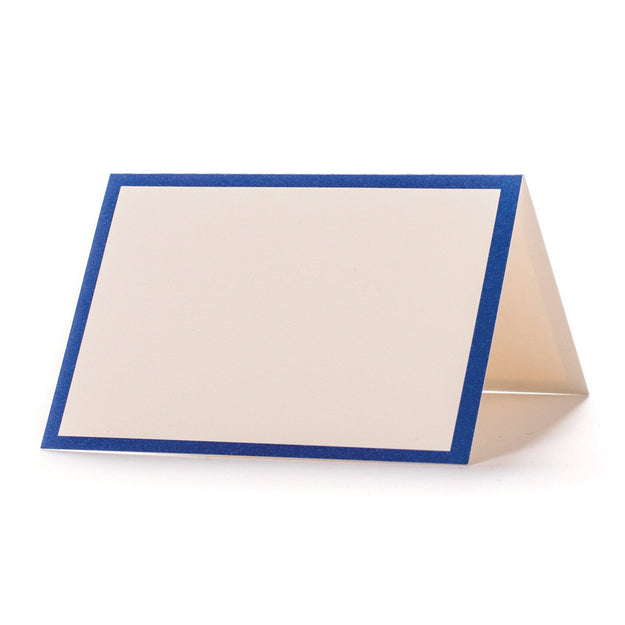Blue Frame Place Card