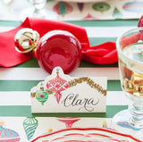 Ornaments Place Card