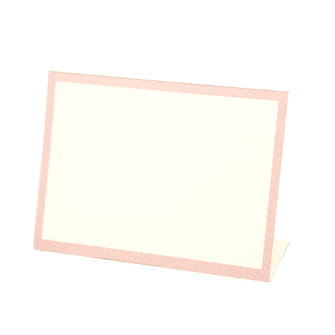 Pink Frame Place Card
