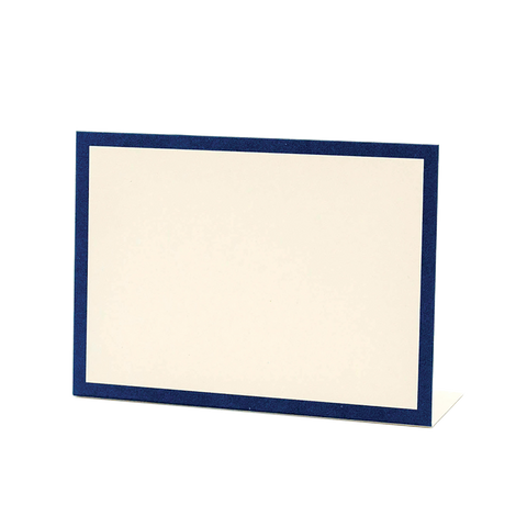Navy Frame Place Card