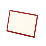 Red Frame Place Card