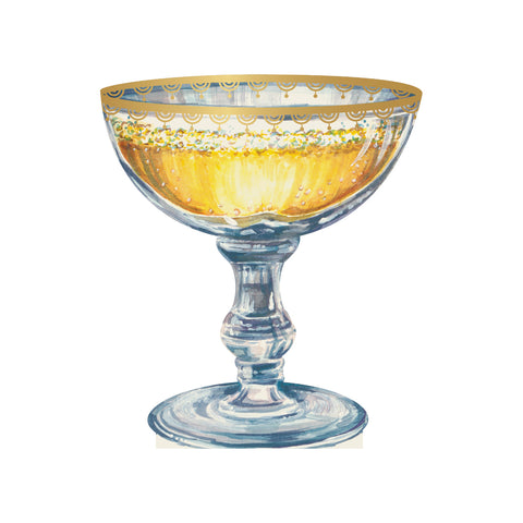 Champagne Coupe Place Card