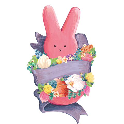 Die-Cut PEEPS® Bunny Table Accent