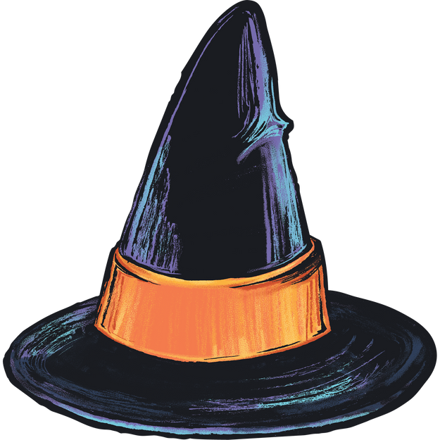 Witch Hat Table Accent