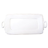 Lastra Handled Rectangular Platter