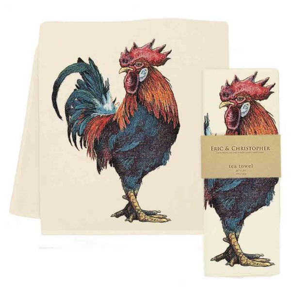 Rooster #3 Tea Towel