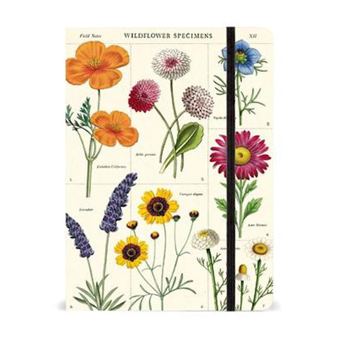 Large Wildflowers Notebook