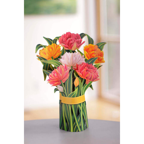 Murillo Tulips Pop Up Flower Bouquet