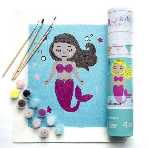 Marina Mermaid - Paint by Numbers Kit