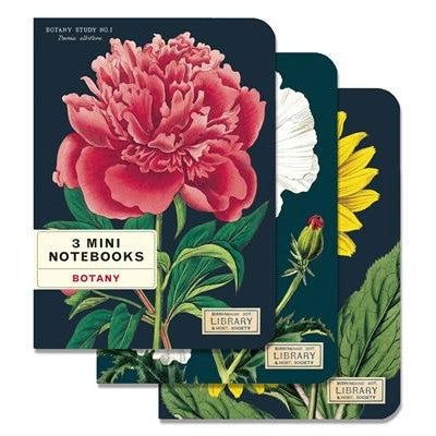 Botany 3 Mini Notebooks