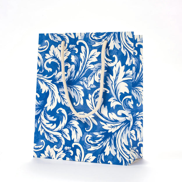 China Blue Acanthus Cub Gift Bag