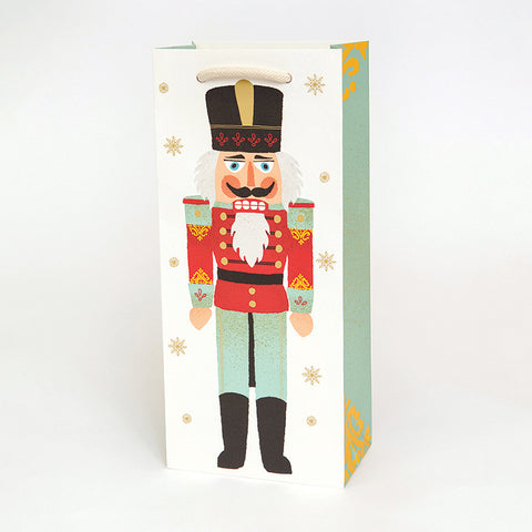 Nutcrackers Wine Bag