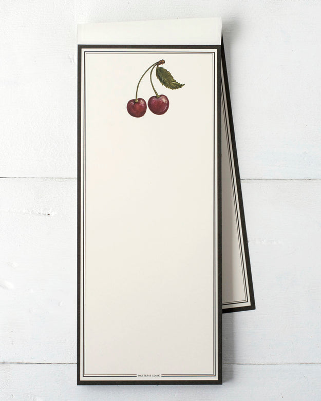 Cherries Notepad