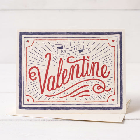 Be Mine, Valentine Card